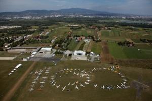 100th Anniversary of flight in Zagreb